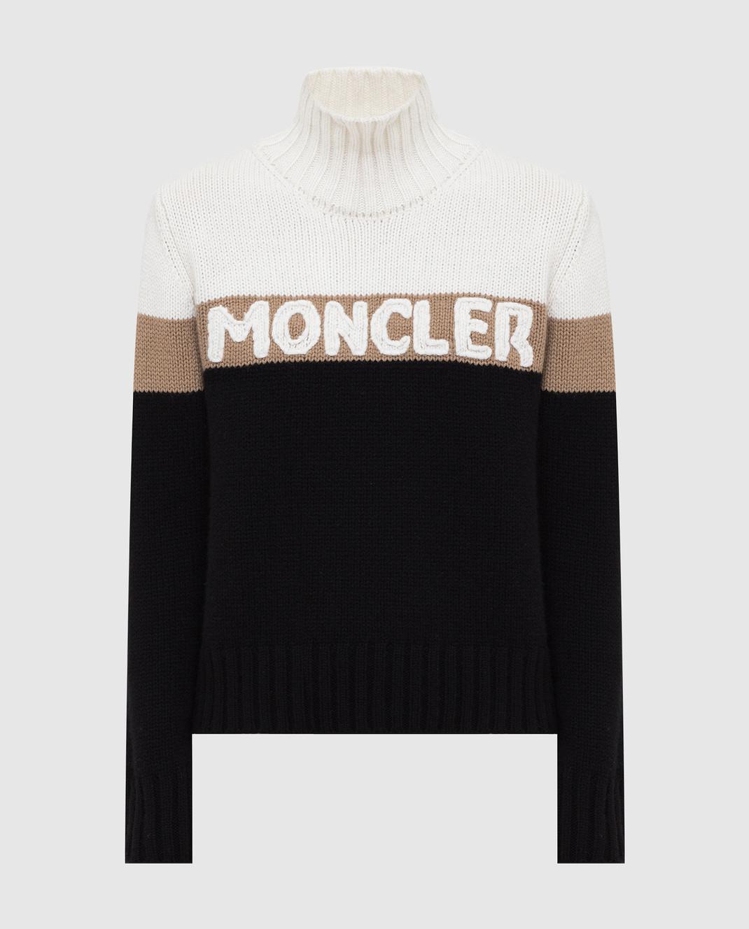 Moncler Свитер из шерсти и кашемира 9252550A9141