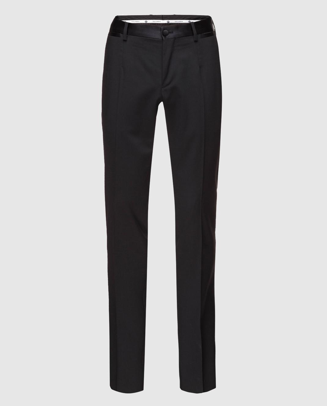 Dolce&Gabbana Черные брюки GYA5MTFUCD4