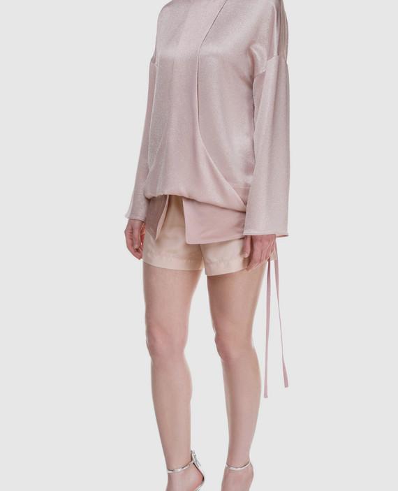 Розовая блуза hover
