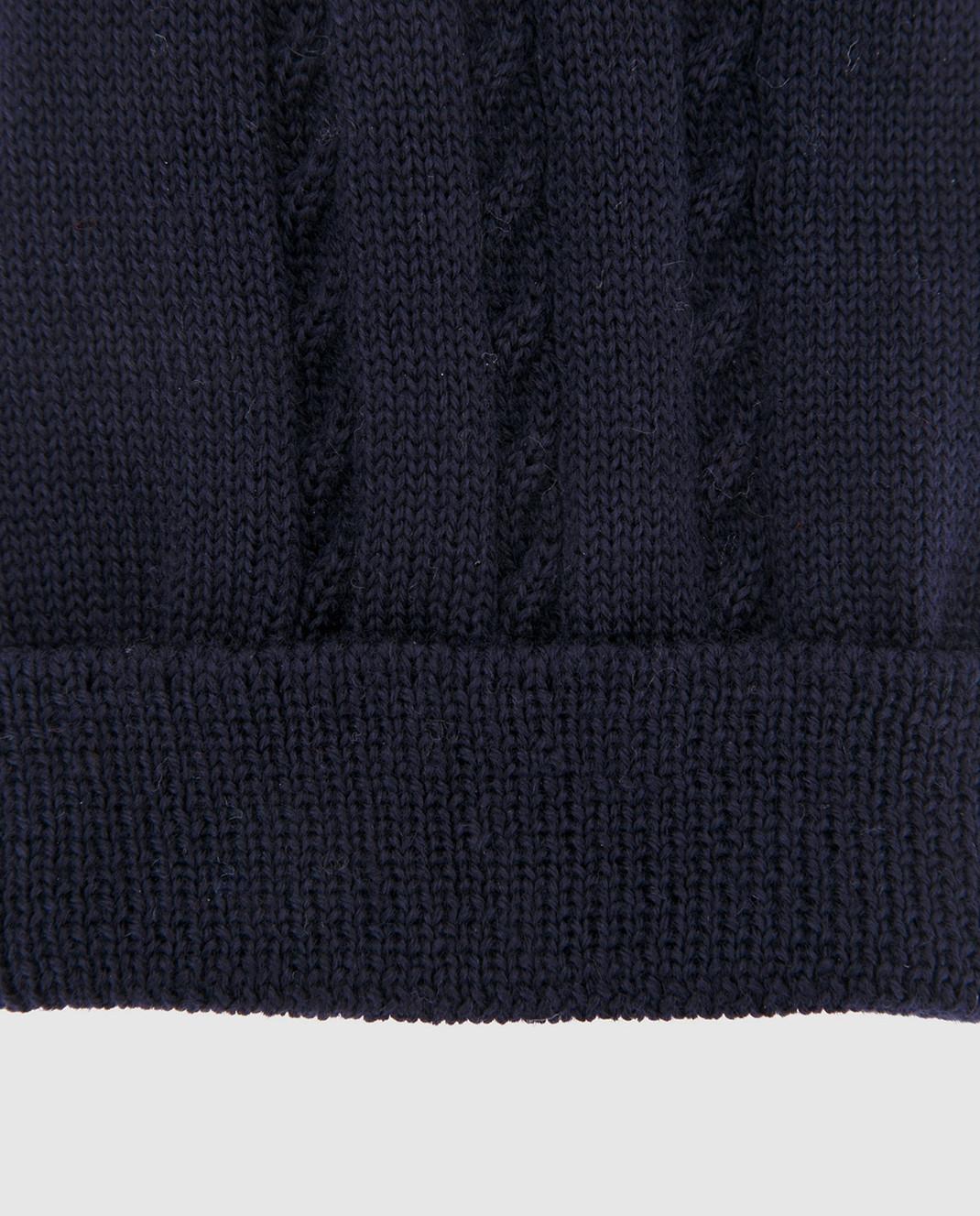 Catya Детская темно-синяя шапка изображение 3