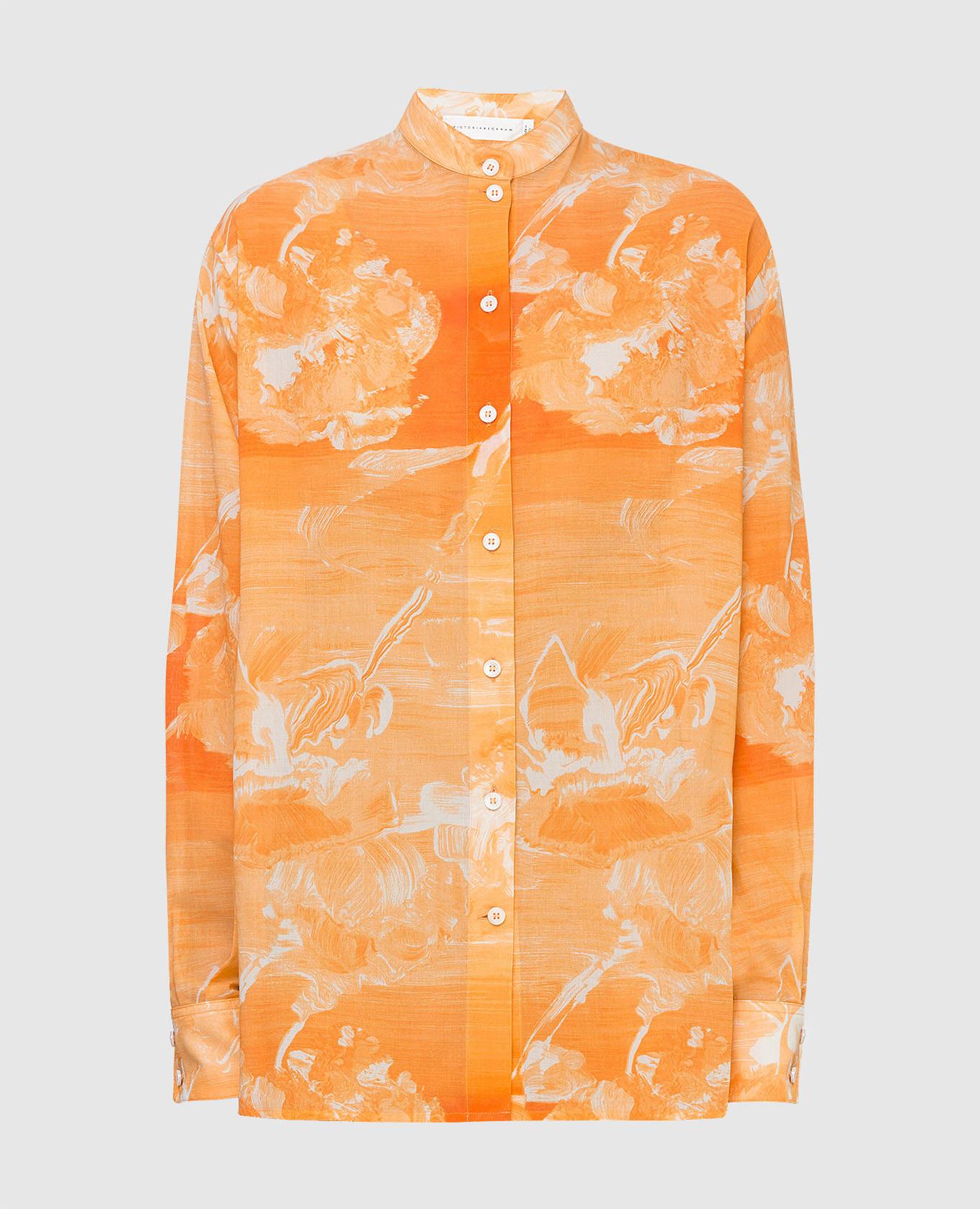 Оранжевая рубашка