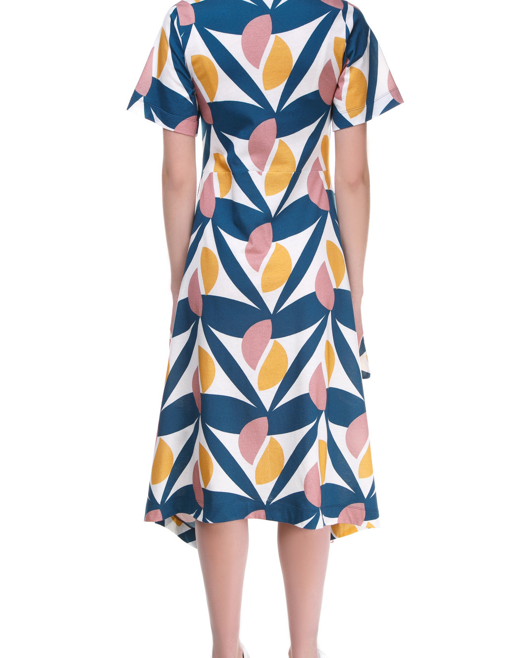 Tak.Ori Синее платье DR229 изображение 4