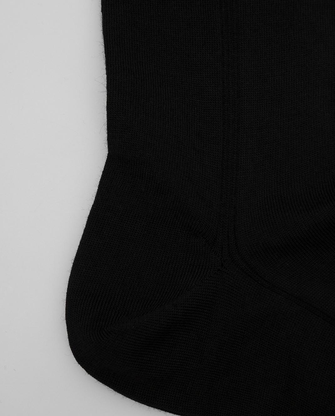 RiminiVeste Черные носки из шерсти WN8011EMINENCE изображение 3