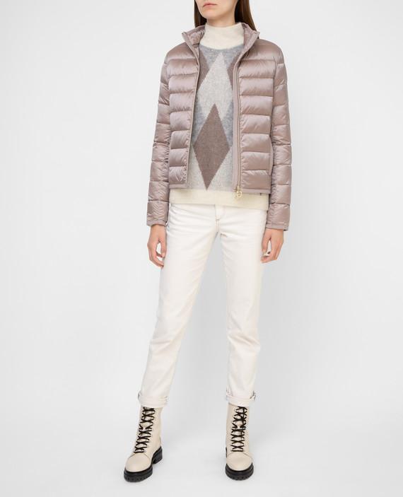 Темно-розовая куртка hover