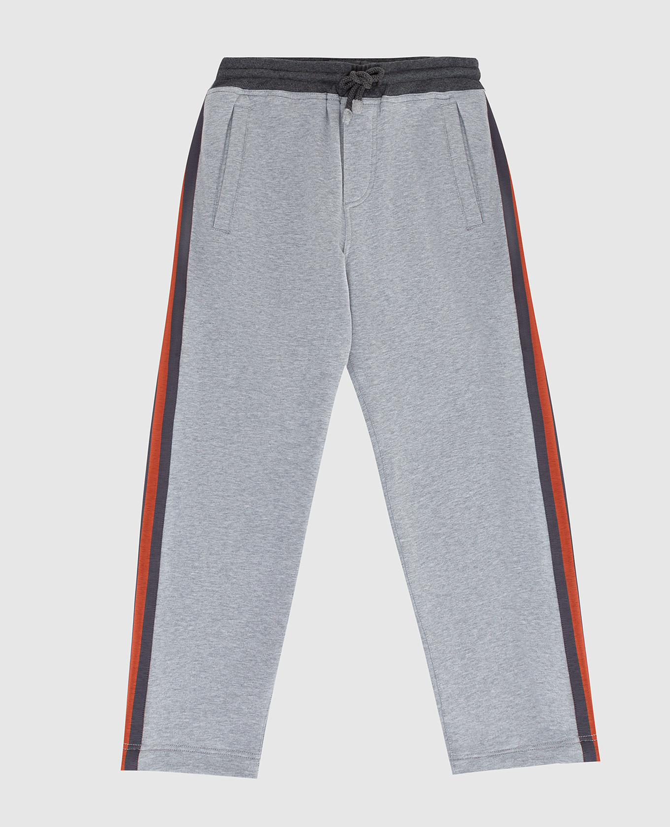 Детские серые спортивные брюки