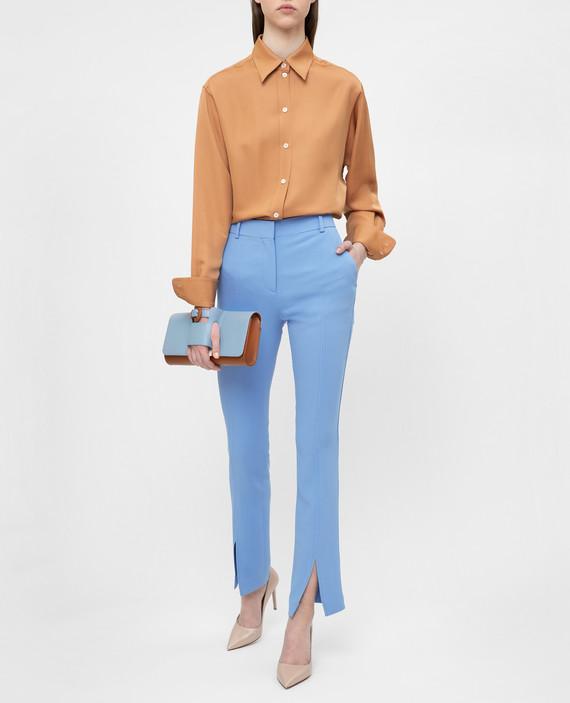 Голубые брюки hover