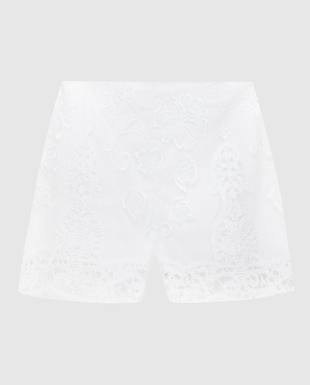 Charo Ruiz Белые шорты 00372