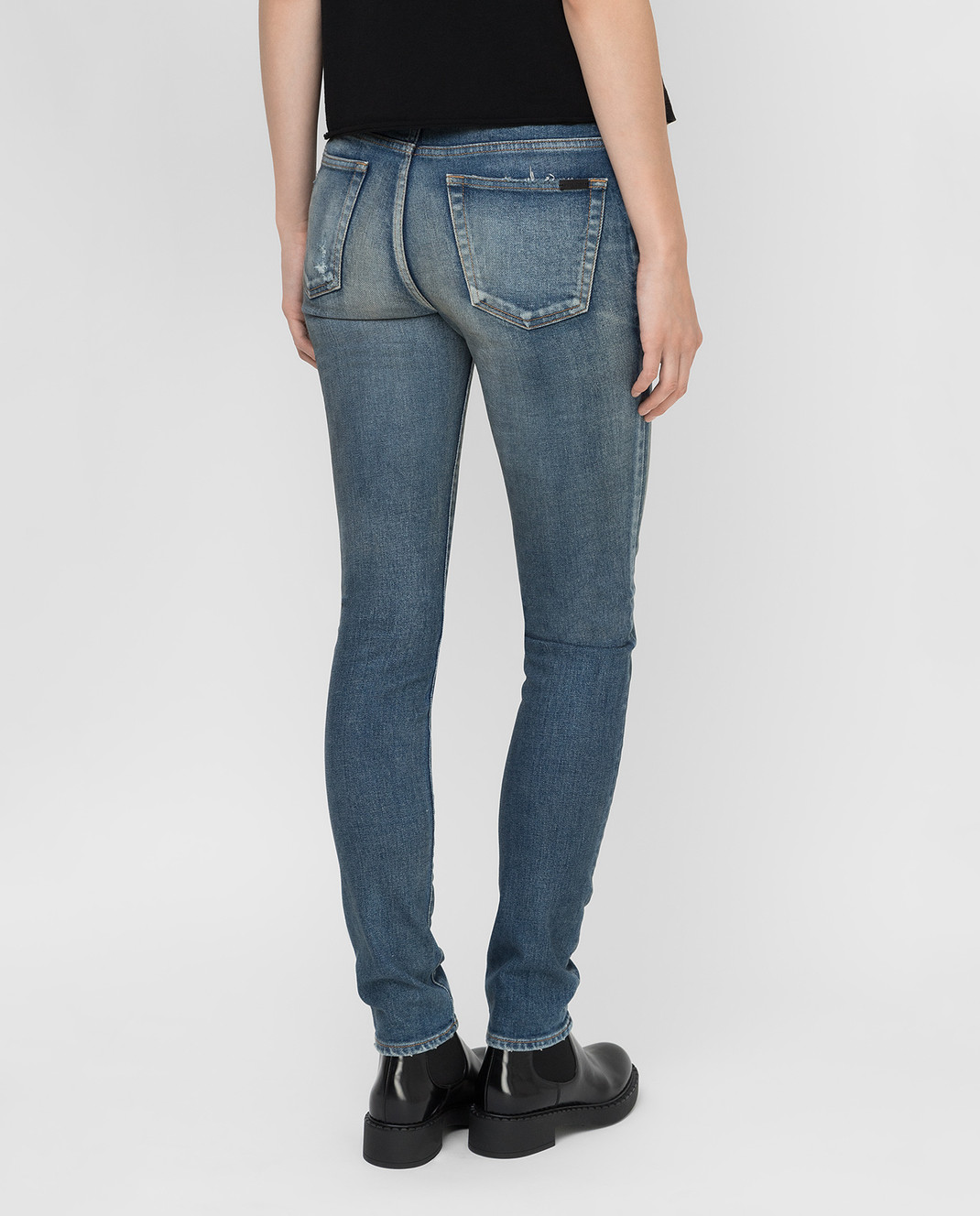 Saint Laurent Синие джинсы изображение 4