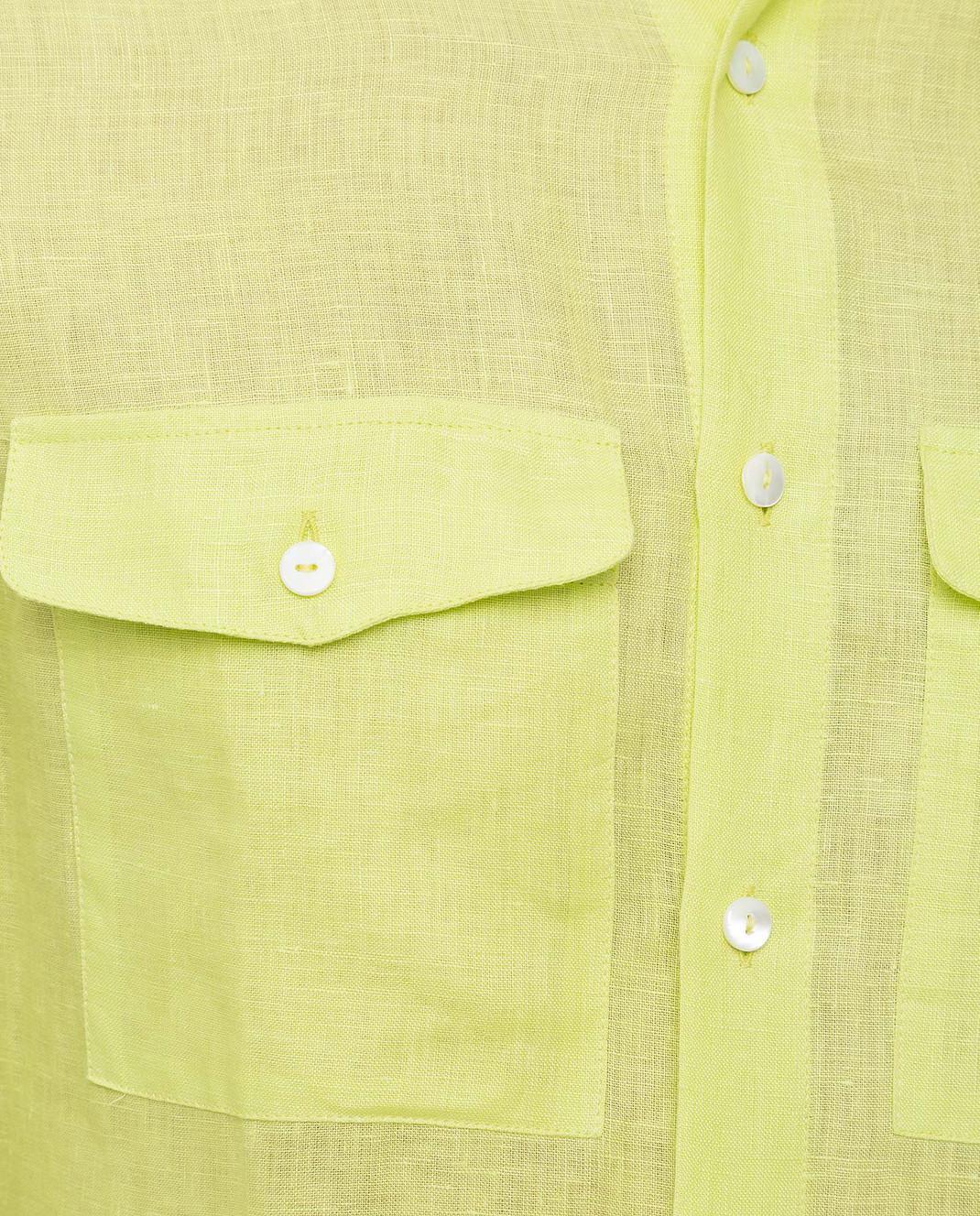 Ermanno Scervino Рубашка из льна изображение 5