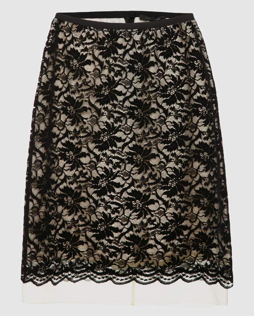 Marc Jacobs Золотистая юбка из кружева M4007156