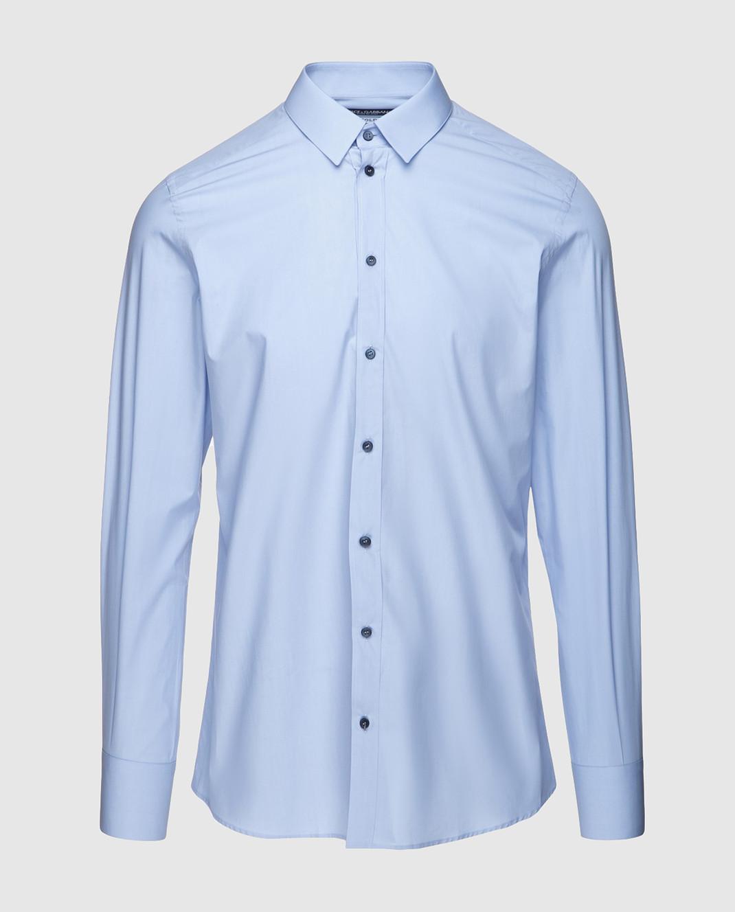 Dolce&Gabbana Голубая рубашка G5EJ0TFU5GK