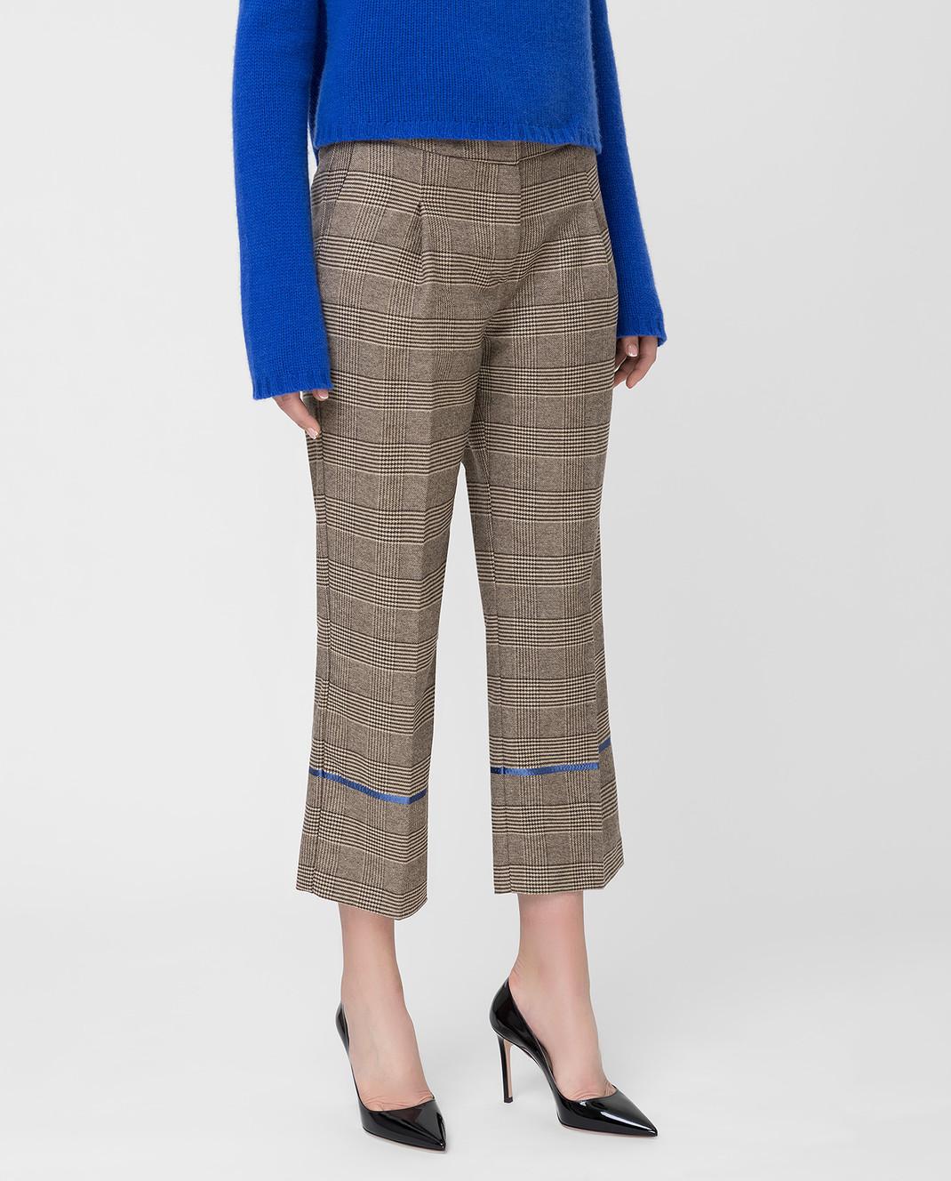 Ermanno Бежевые брюки изображение 3