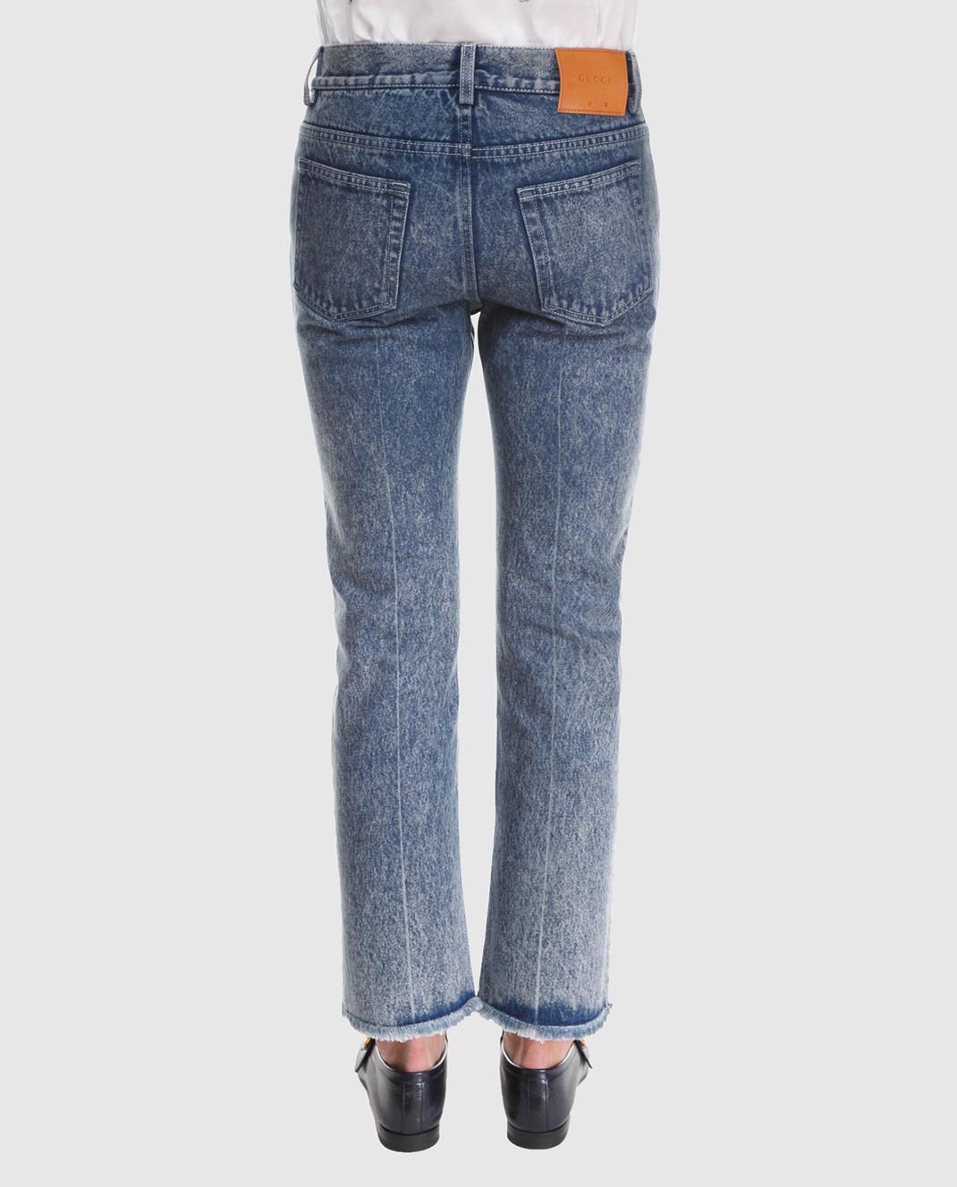 Gucci Синие джинсы 524365 изображение 4