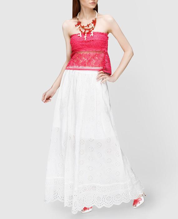 Белая юбка hover