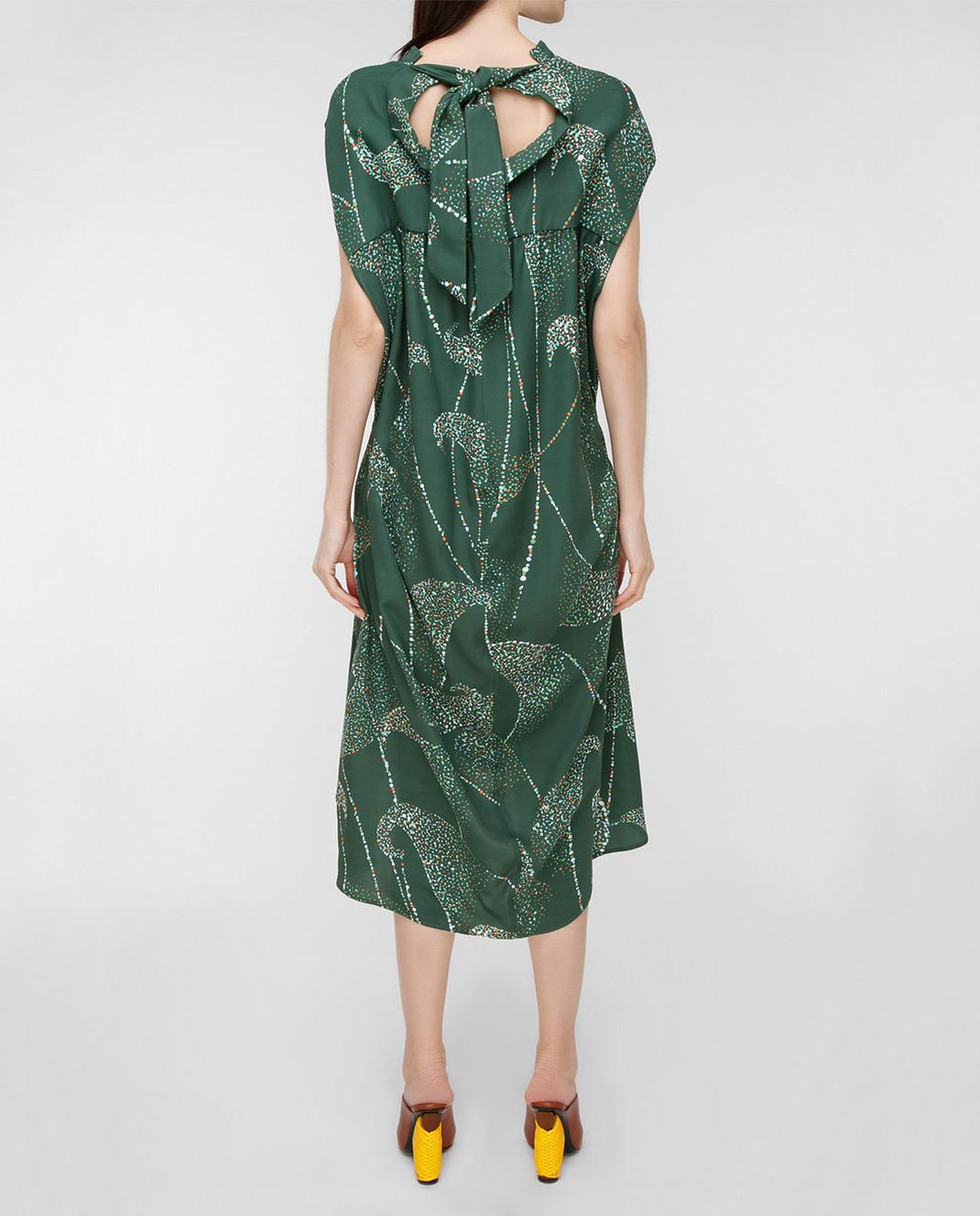Balenciaga Зеленое платье 456946 изображение 4