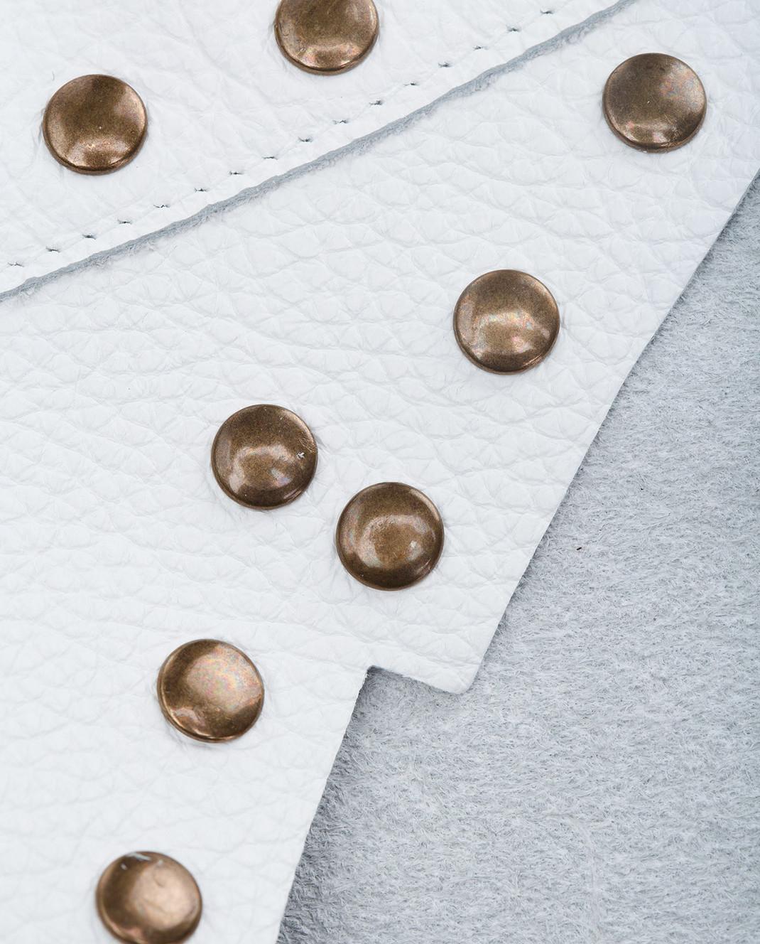 Philosophy di Lorenzo Serafini Белый кожаный пояс A30052171 изображение 4