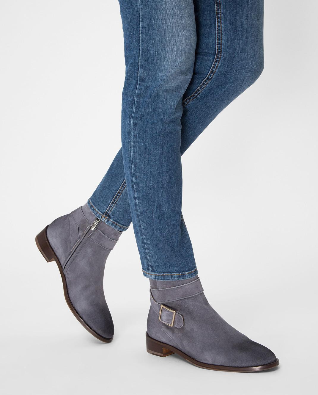 Doucal's Серые замшевые ботинки DD8252PATCUF083 изображение 2