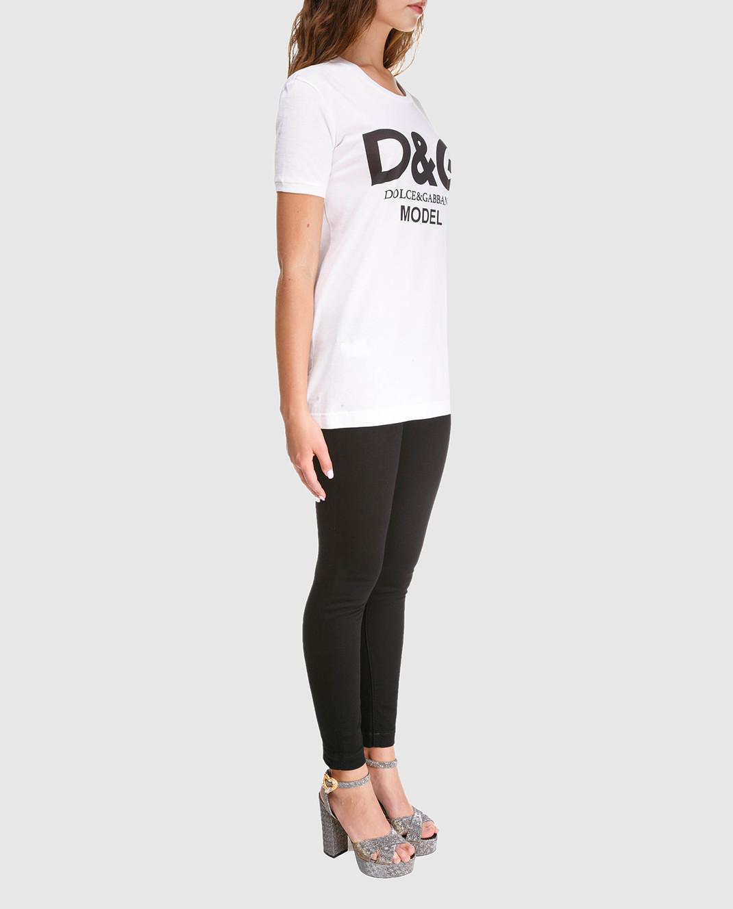 Dolce&Gabbana Черные джинсы FTAH7ZG8T27 изображение 2