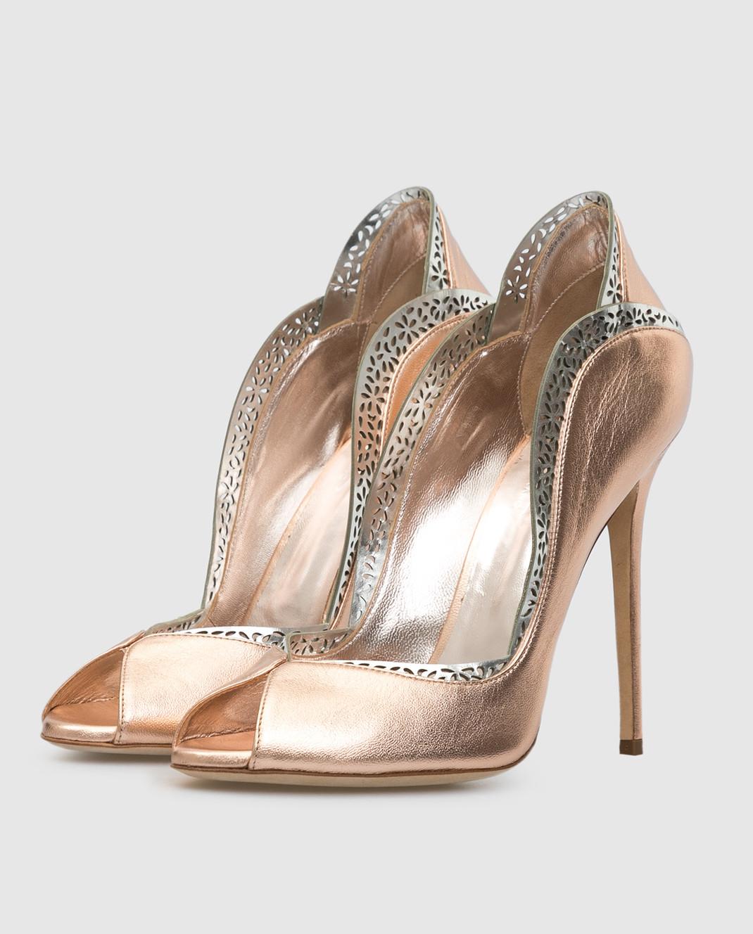 Cerasella Кожаные туфли DANAESPECCHIO изображение 3