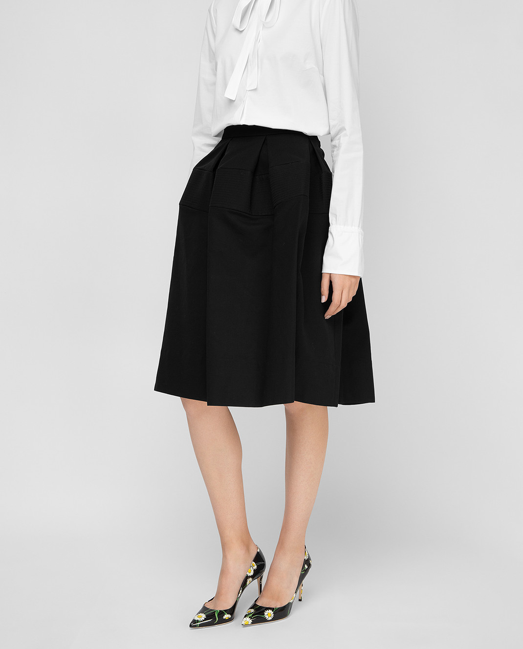 Balenciaga Черная юбка изображение 3