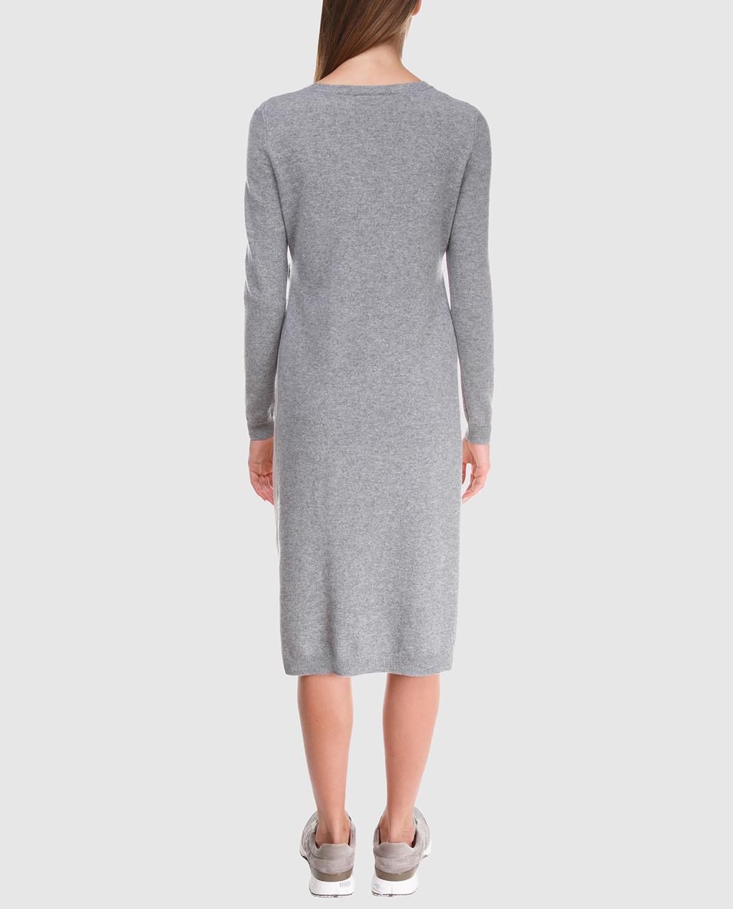 Peserico Серое платье из шерсти S82017F12U9018 изображение 4