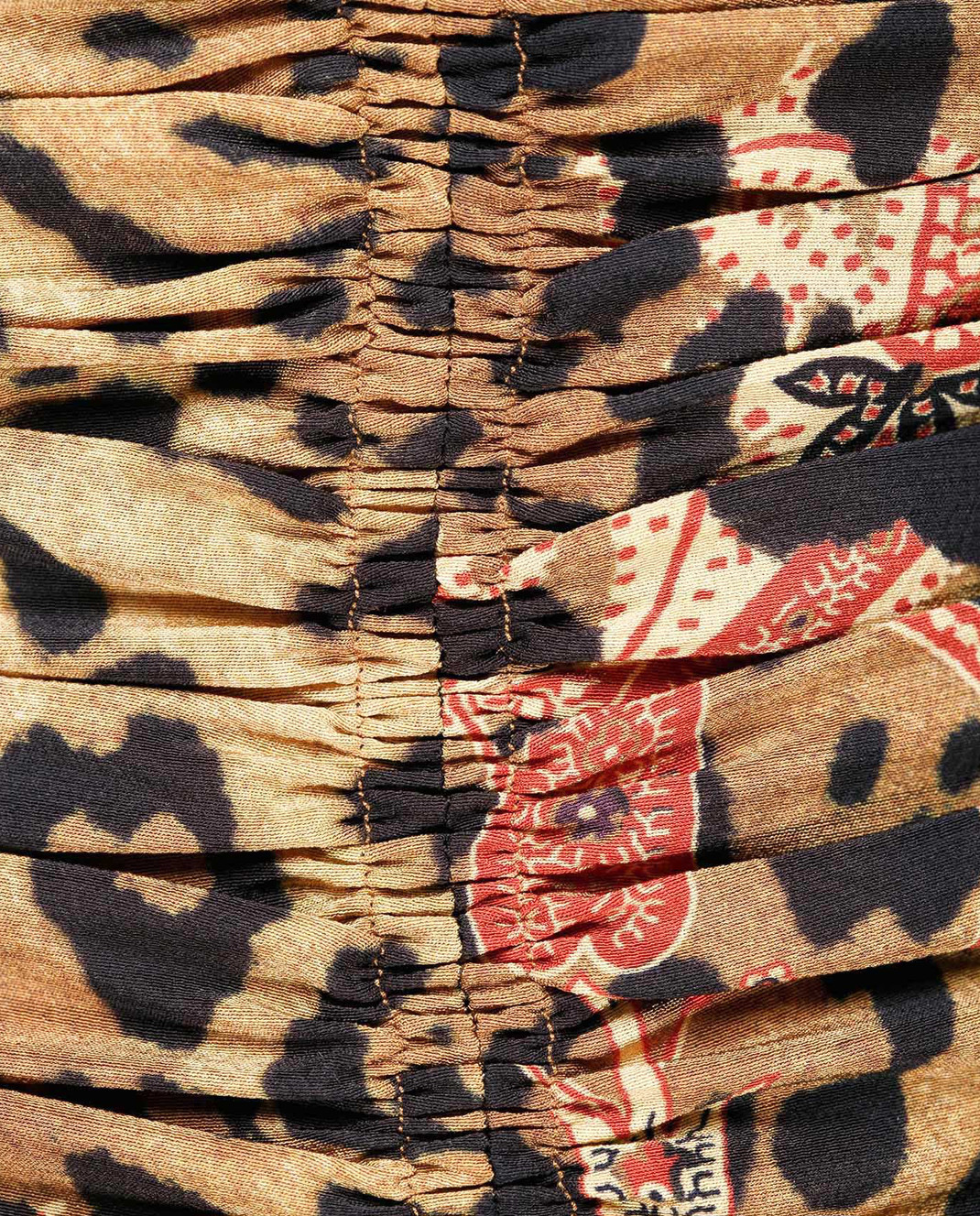 Etro Бежевое платье из шелка D152335384 изображение 5