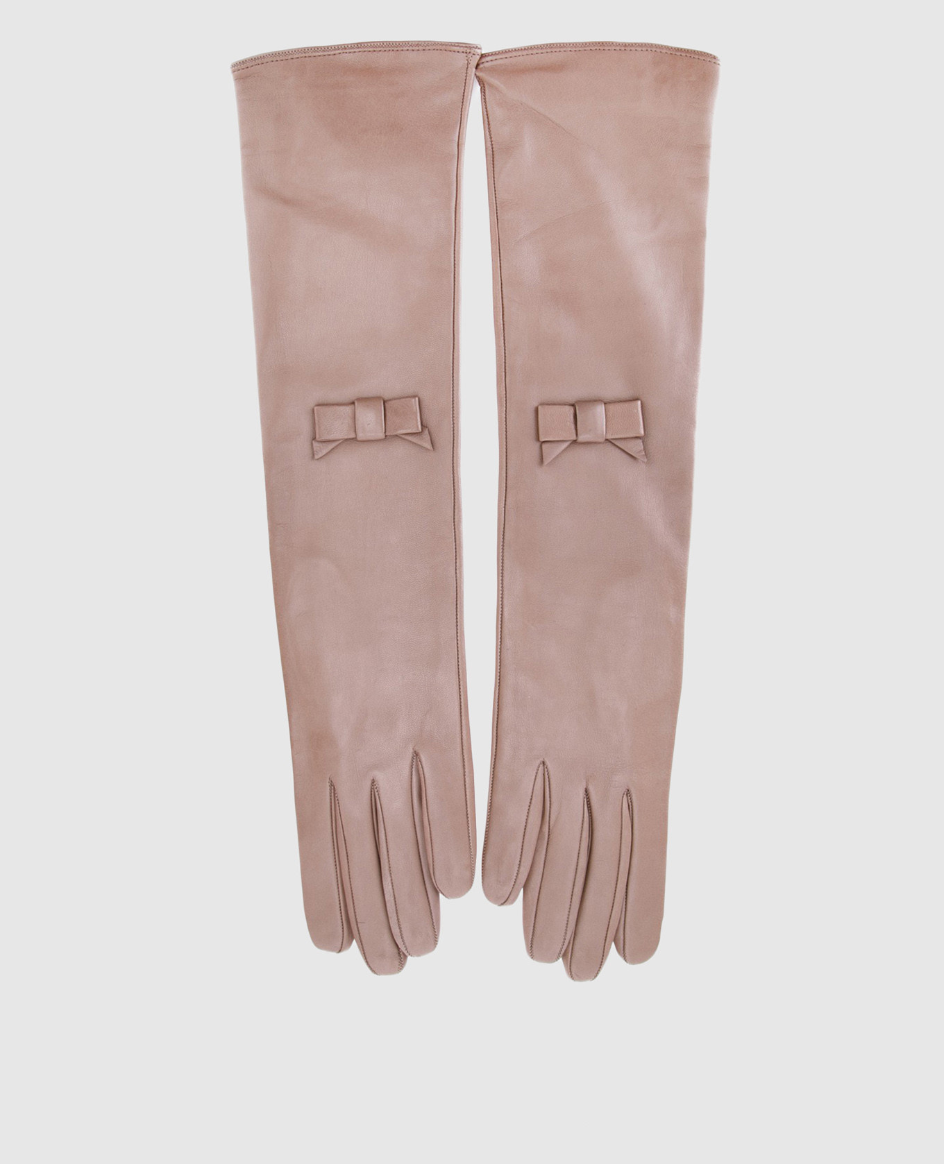 Бежевые перчатки