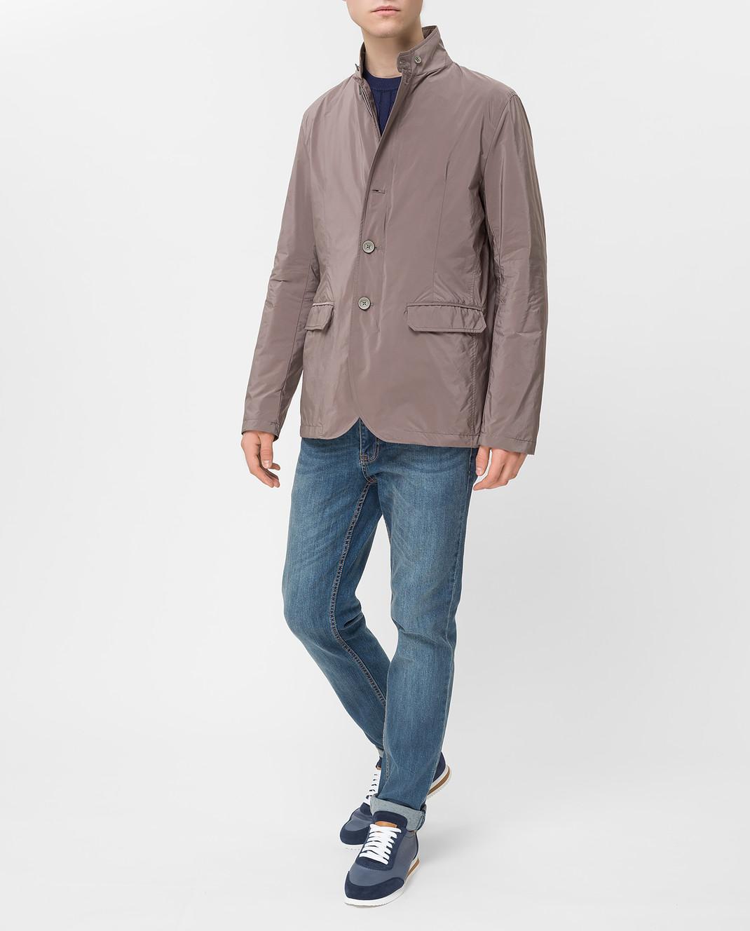 Herno Светло-коричневая куртка GA0074U изображение 2