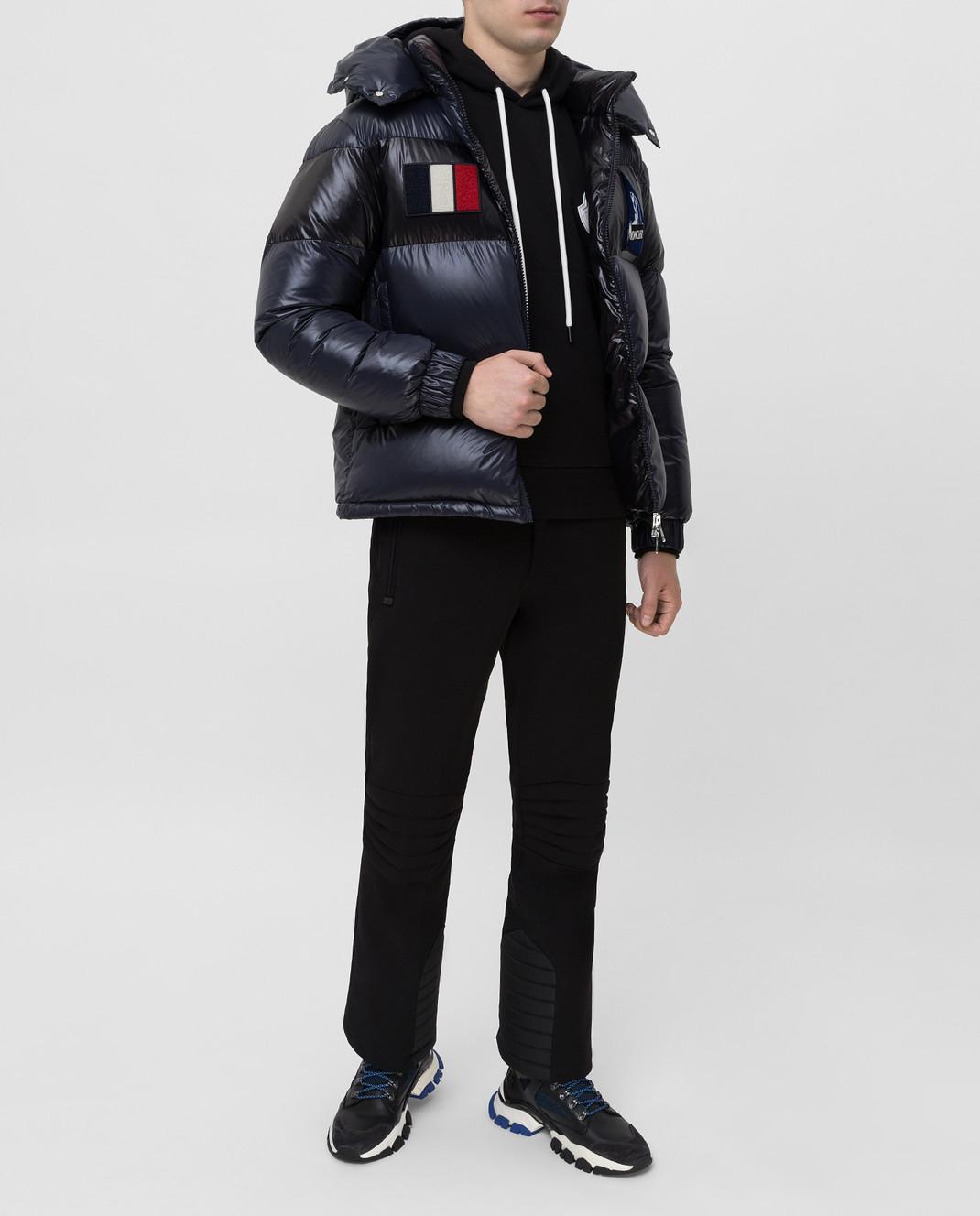 Moncler Grenoble Черные горнолыжные брюки изображение 2
