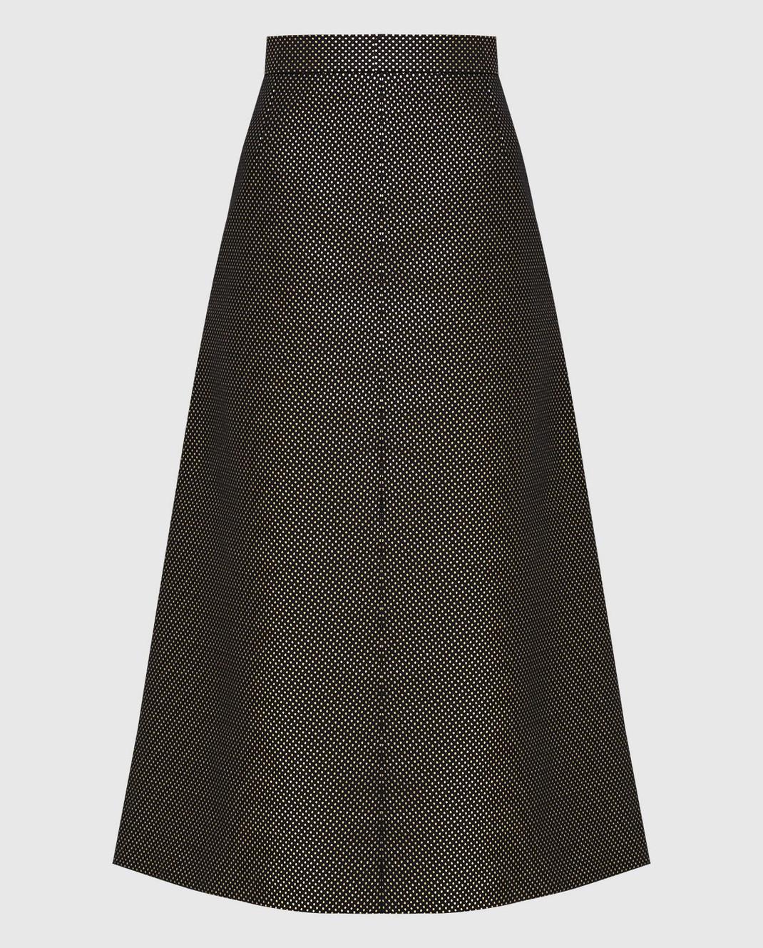 Red Valentino Черная юбка изображение 1