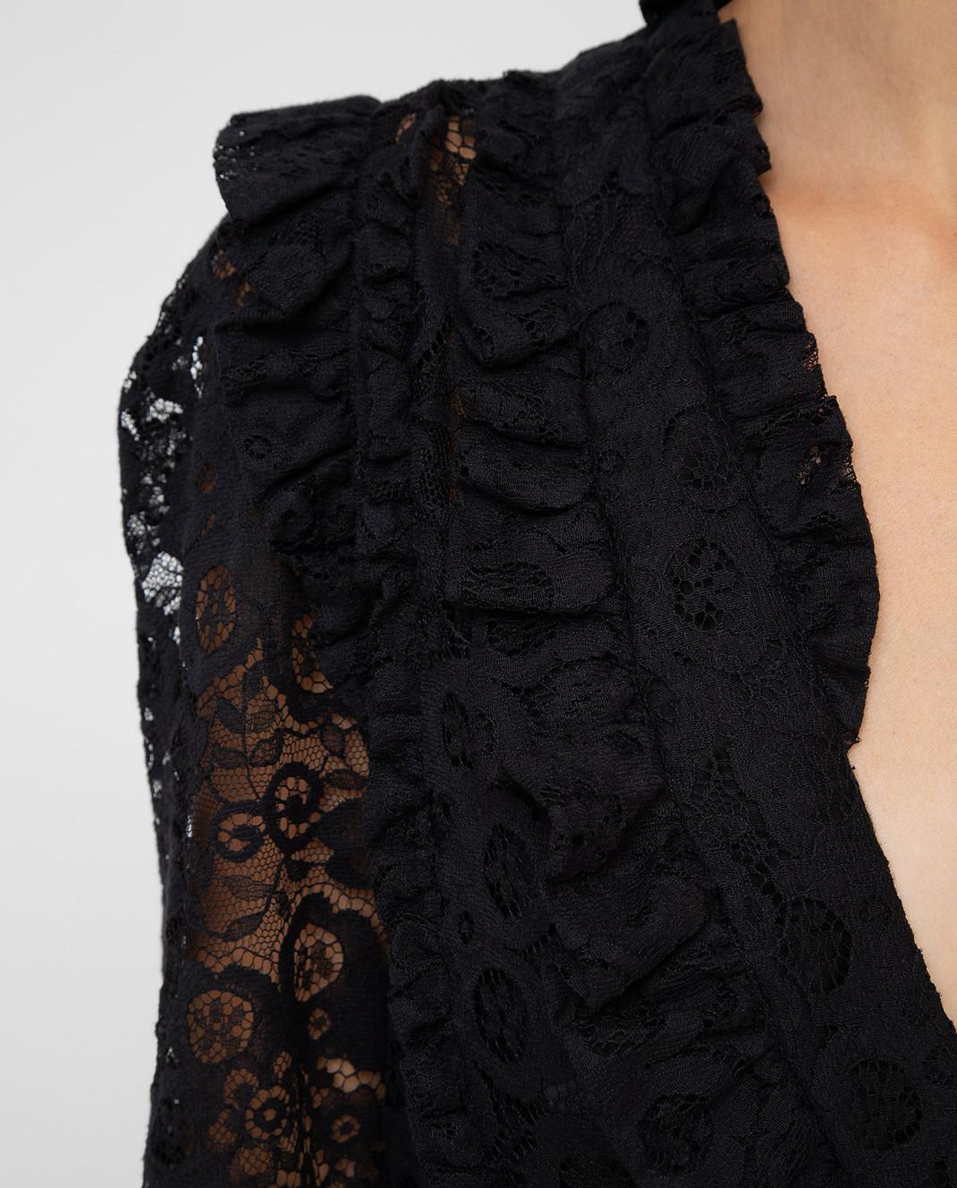 Altuzarra Черное платье 318316795 изображение 5