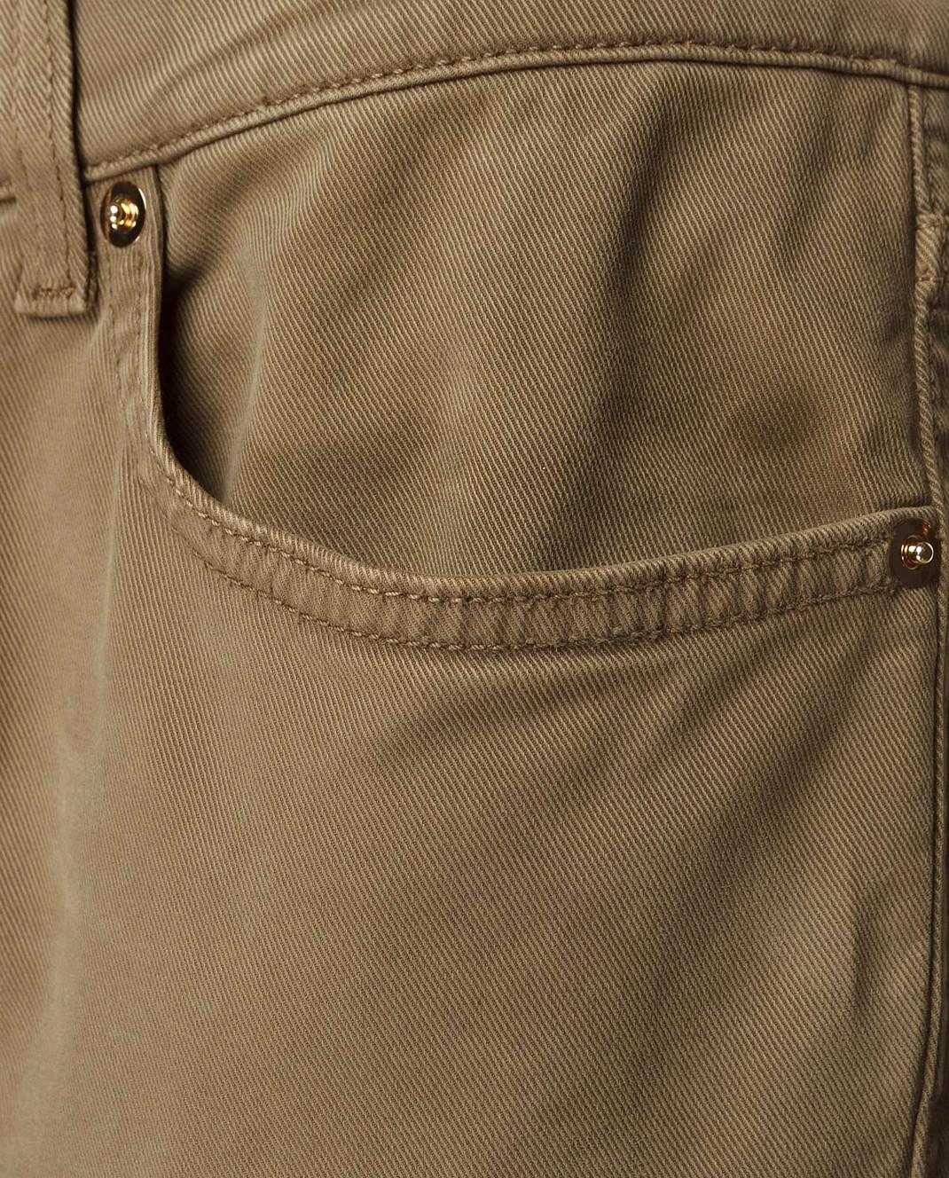 Redemption Зеленые брюки 1810RP08TC29 изображение 5