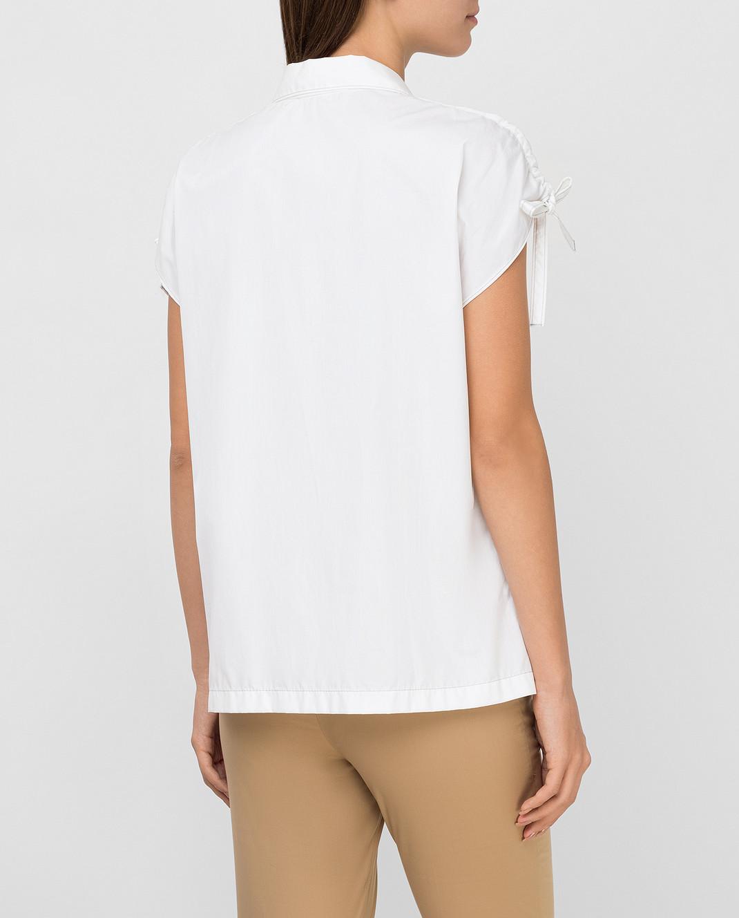 Prada Белая рубашка P469A изображение 4