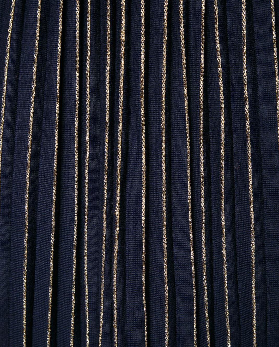 Gucci Синяя юбка-плиссе 490353 изображение 3