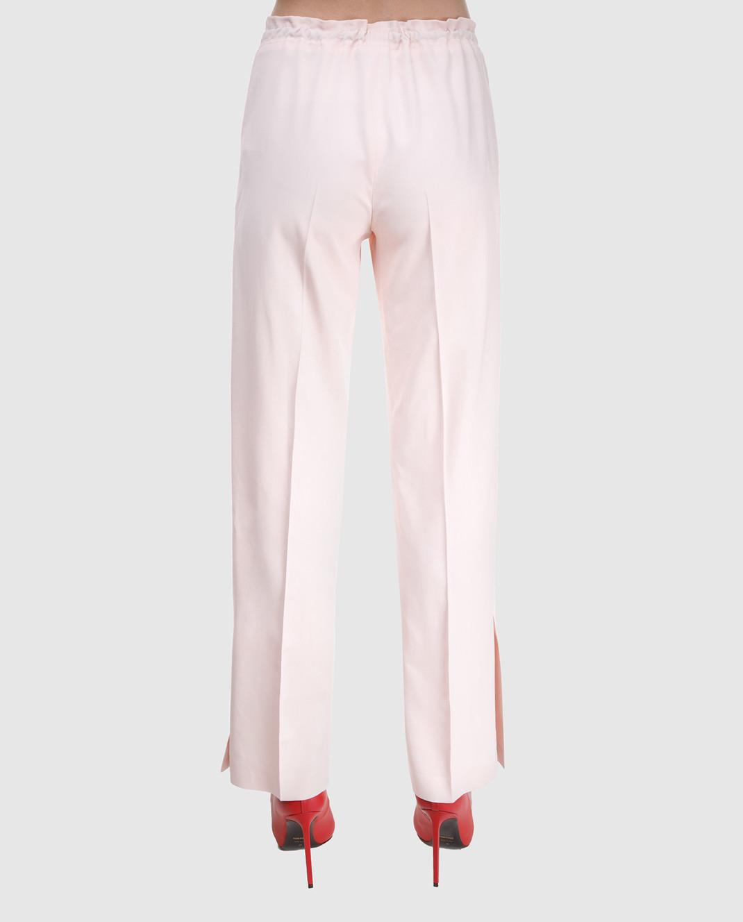 Ermanno Scervino Розовые брюки D326P307CQN изображение 4