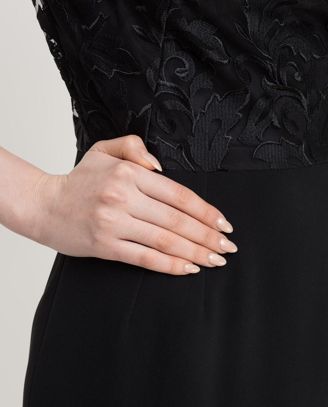 Dolce&Gabbana Черное платье F6VV0TFURDV изображение 5