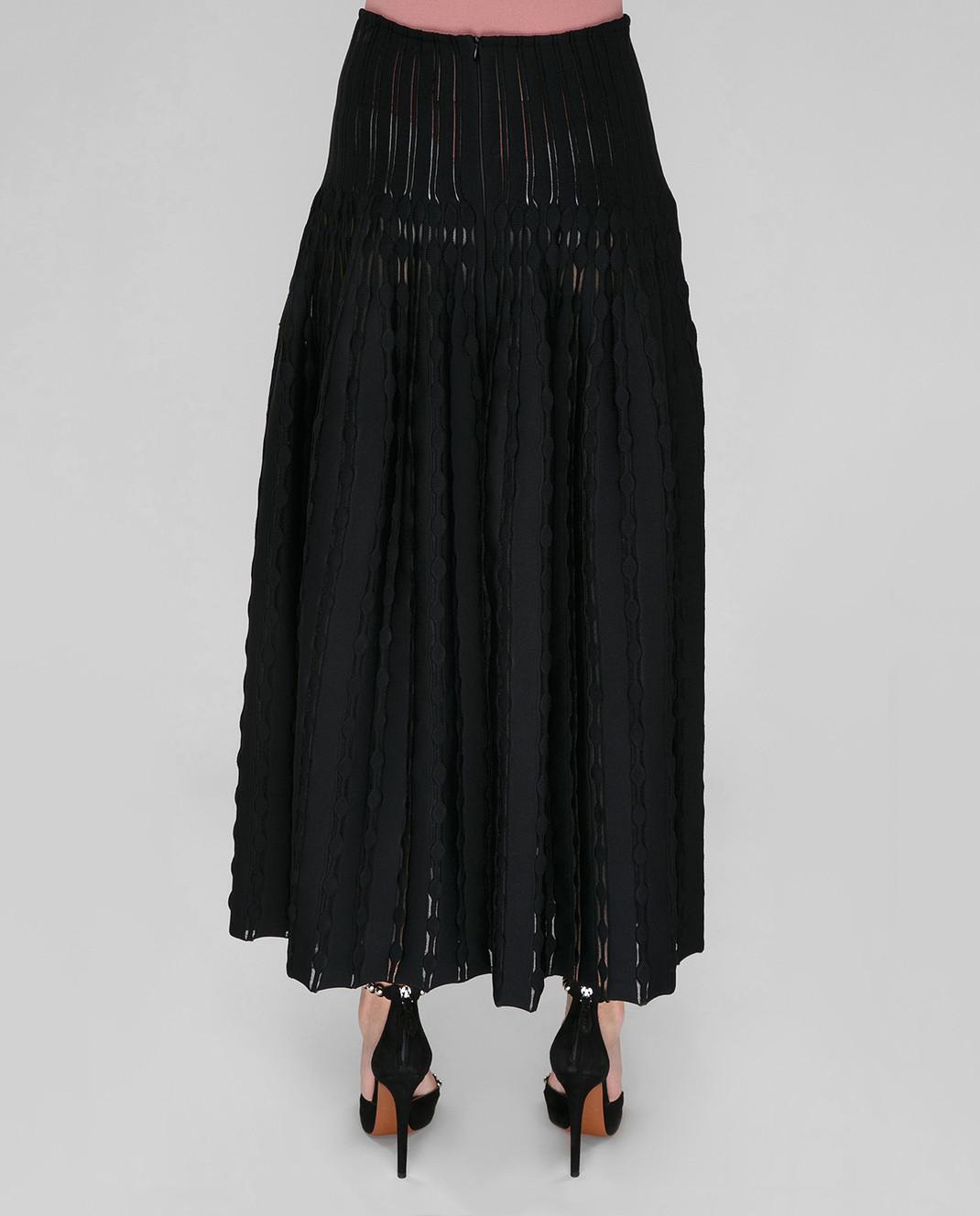 Azzedine Alaia Черная юбка 7S9JC55LM297 изображение 3