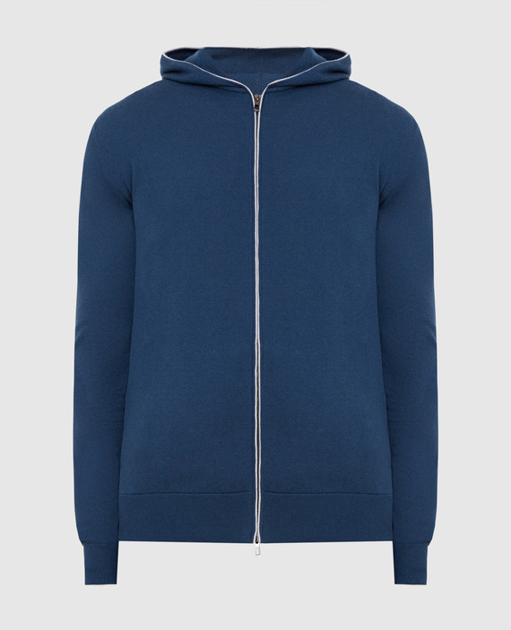 Синяя спортивная кофта