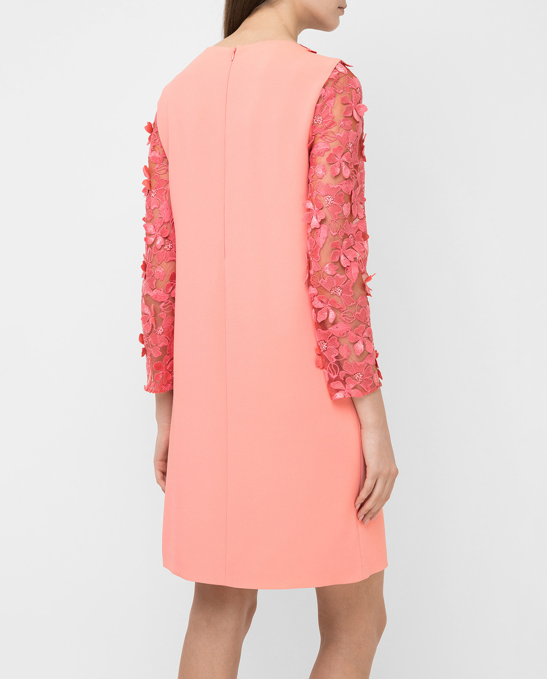 Giamba Коралловое платье PG5270 изображение 4