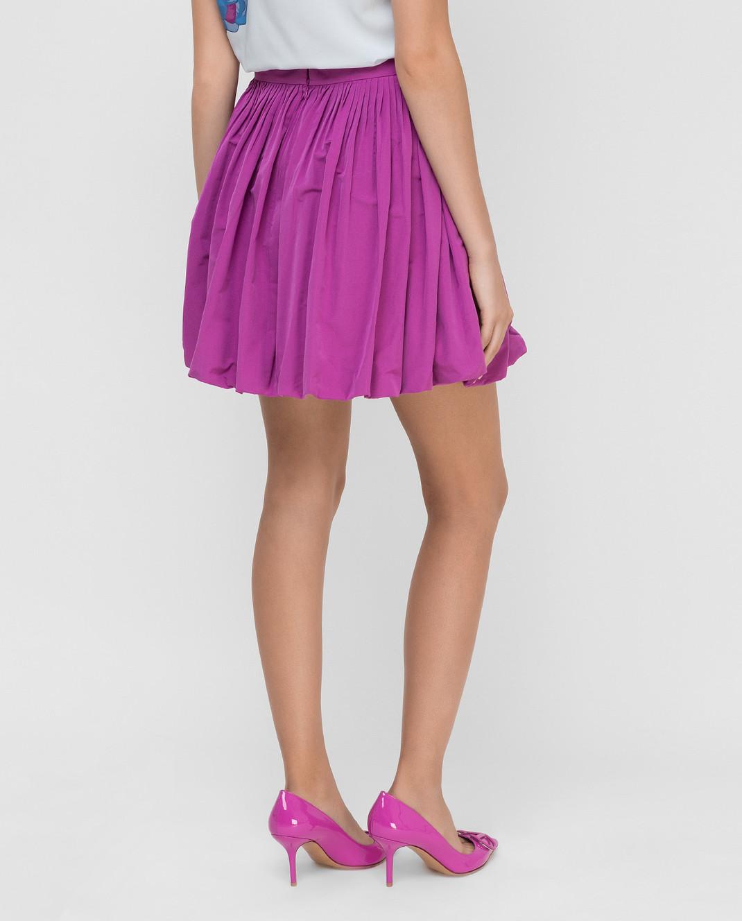 Valentino Сиреневая юбка изображение 4