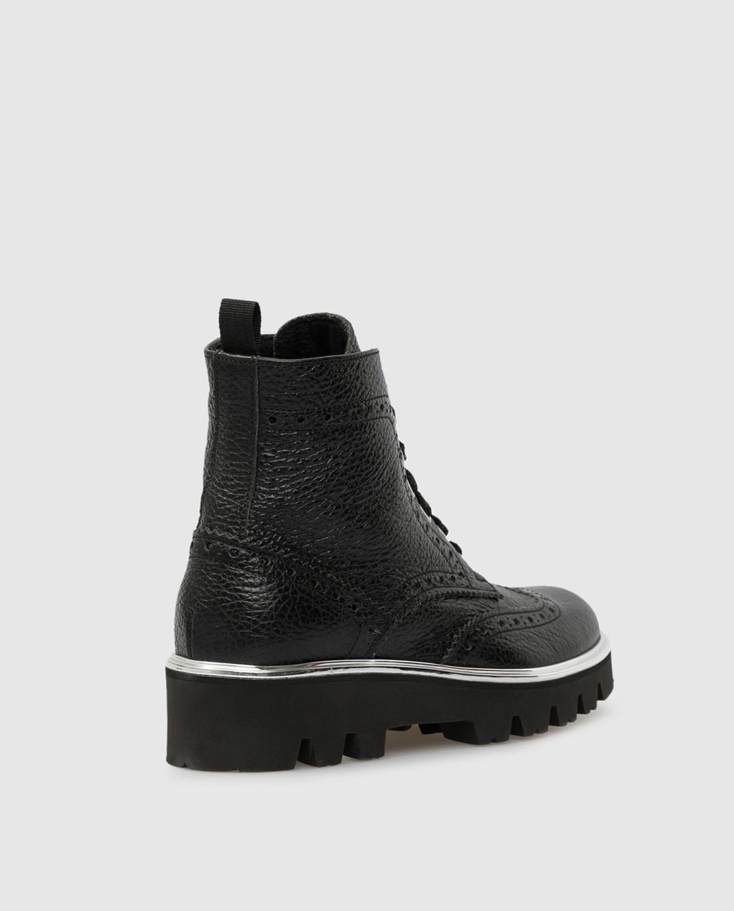 Zecchino D'oro Детские черный ботинки R0868013032 изображение 3