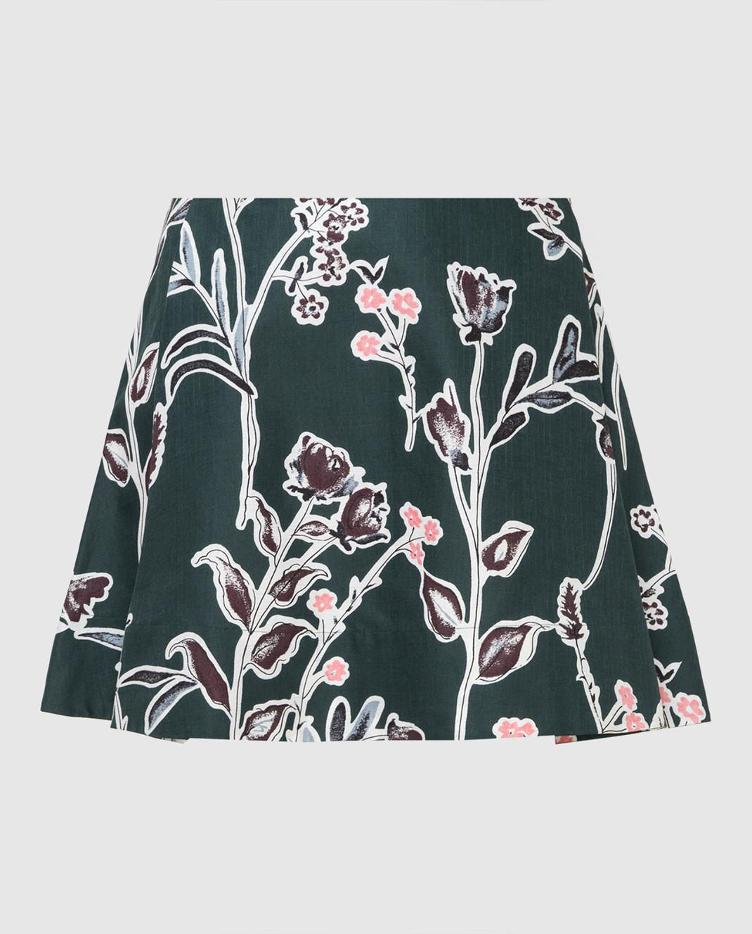 Marni Зеленая юбка изображение 1