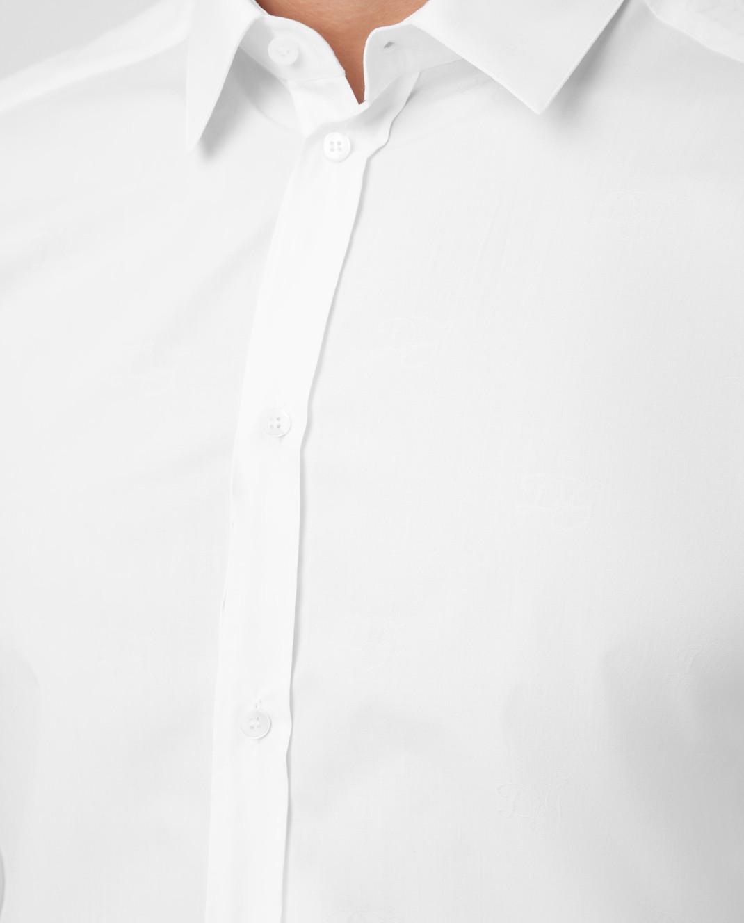 Dolce&Gabbana Белая рубашка изображение 5