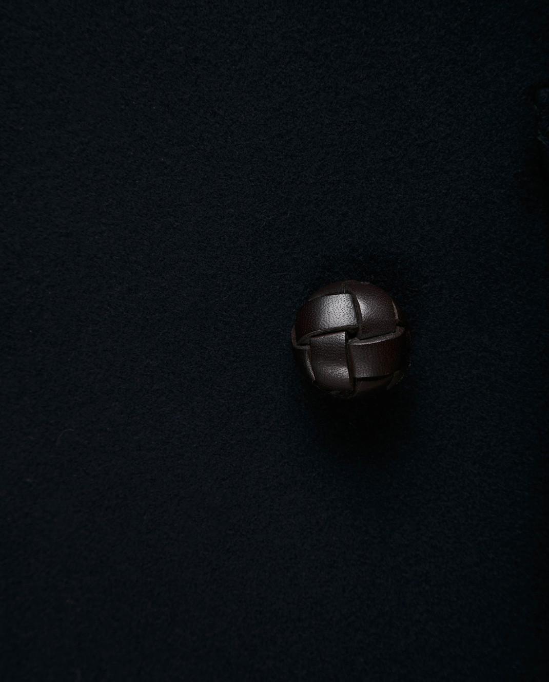 Gucci Темно-синее пальто из шерсти и кашемира 523628 изображение 5