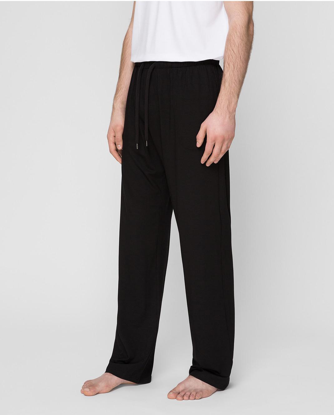 Derek Rose Черные брюки 3558BASE001 изображение 3