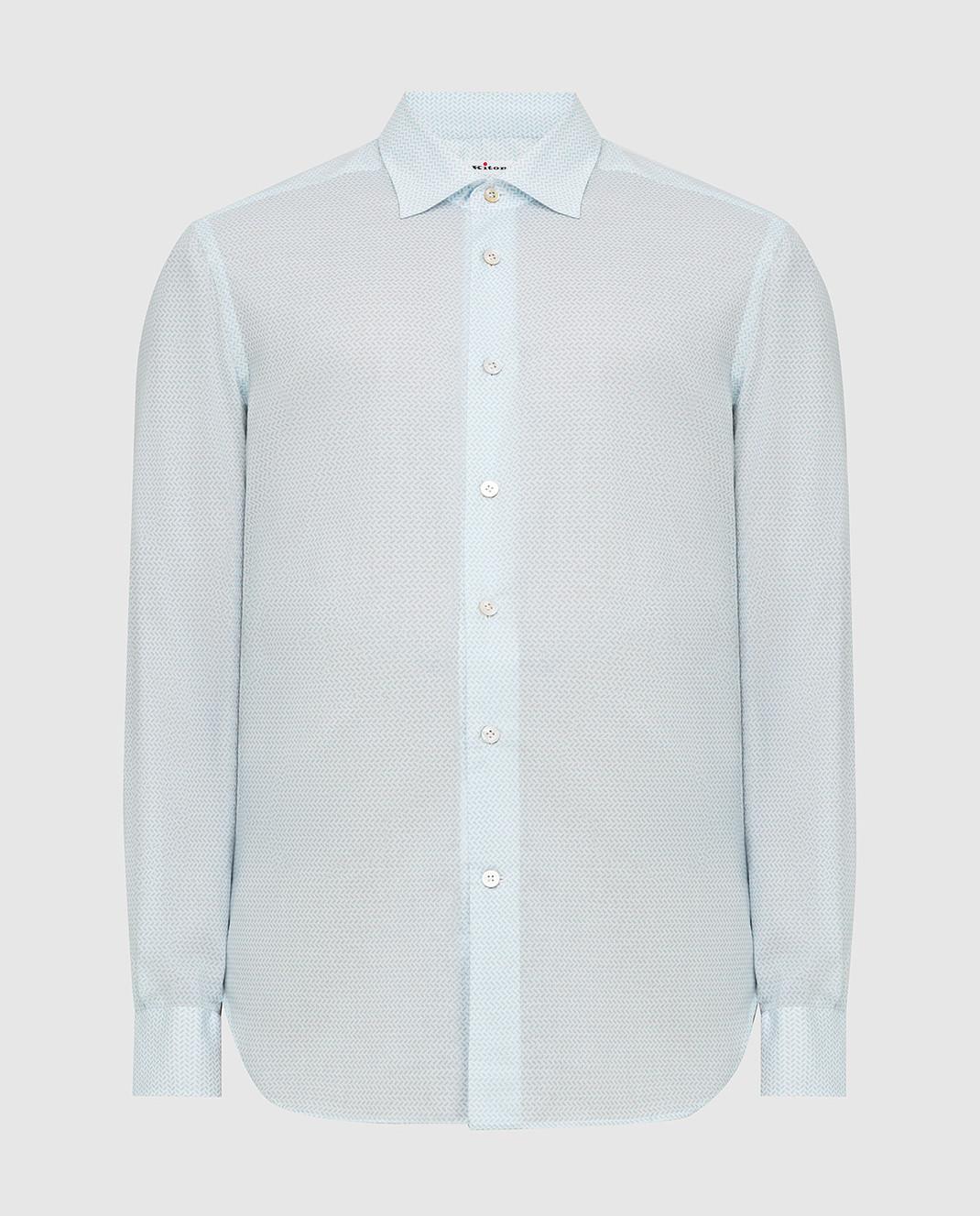 Kiton Белая рубашка изображение 1