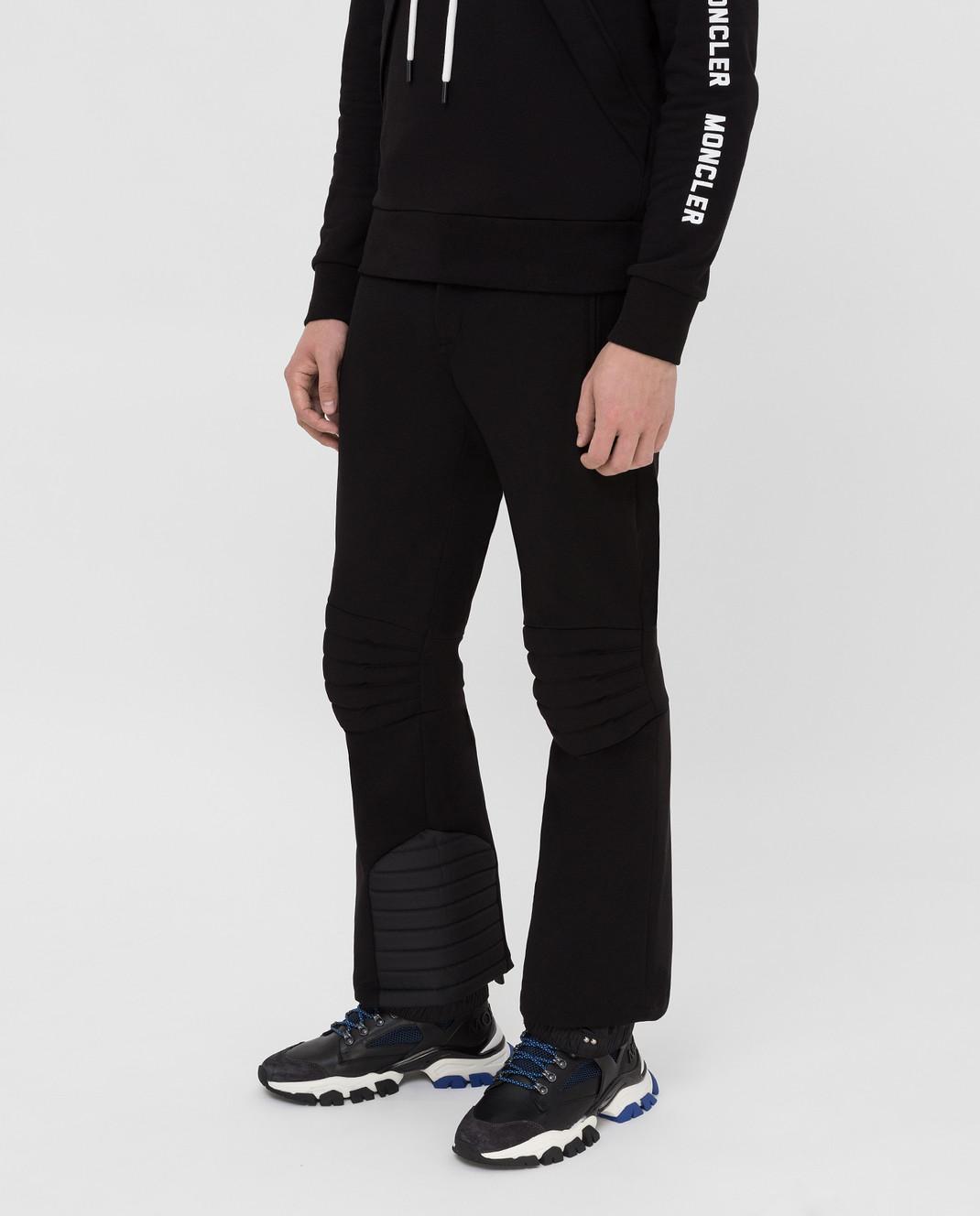 Moncler Grenoble Черные горнолыжные брюки изображение 3