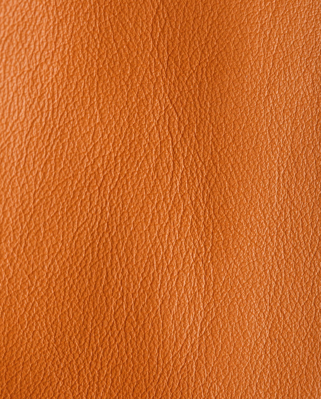 Yves Salomon Оранжевый плащ из кожи ягненка 7EYM20401APXX изображение 5
