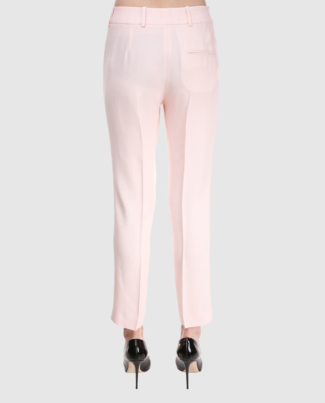 Ermanno Scervino Розовые брюки D326P301LHU изображение 4