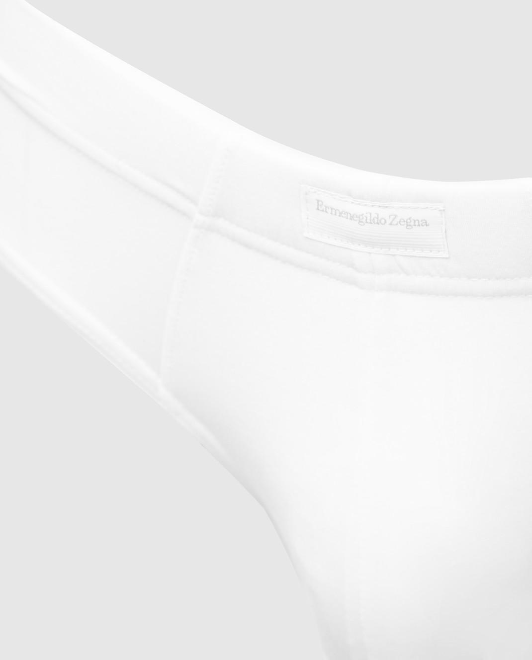 Ermenegildo Zegna Белые трусы N2L610020 изображение 3